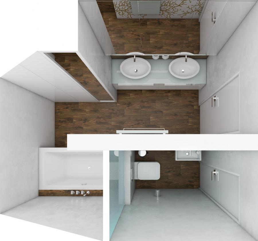 ... ATTIC bathroom | Floor plan