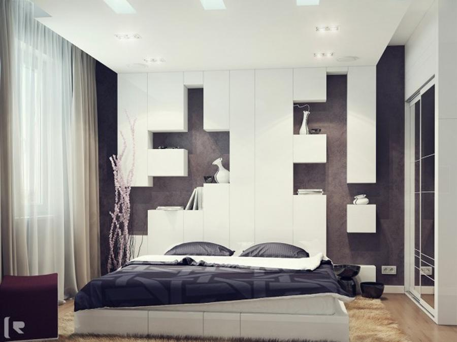 Creative Concept For Bedroom Design Idea With Interesting...