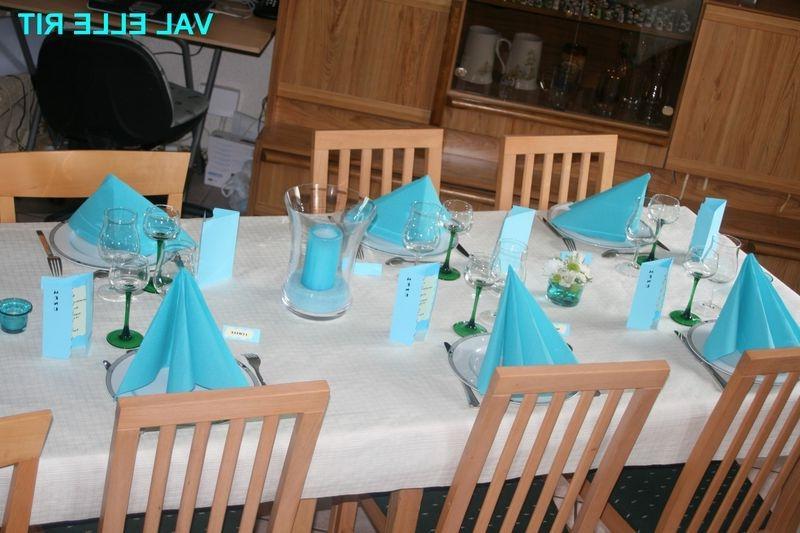 Photo de decoration de table de communion - Decoration table de fete ...
