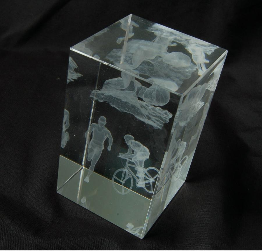 3d Glass Photo Cube Uk