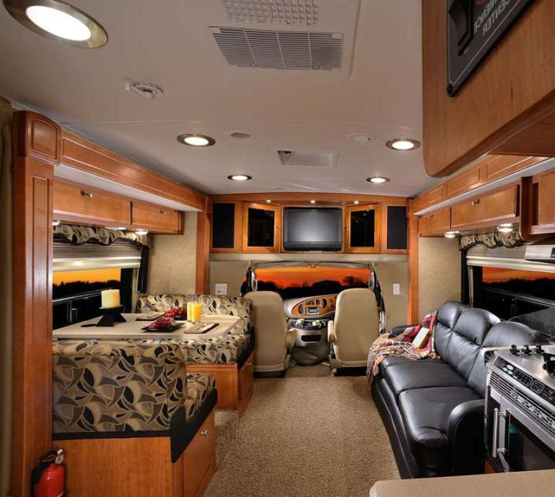 Motor Home Interior Photo