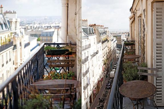 Hereu Paris with a balcony.