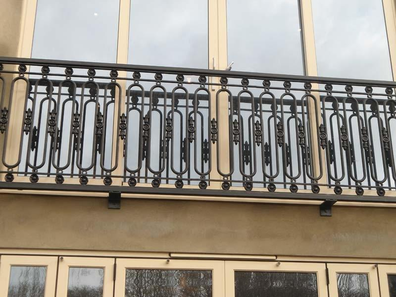 Juliette Balcony Railing Fabrication and Installation in Woking,...