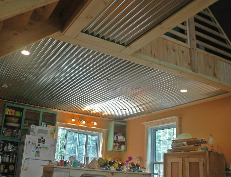 Corrugated Metal Ceiling Photos
