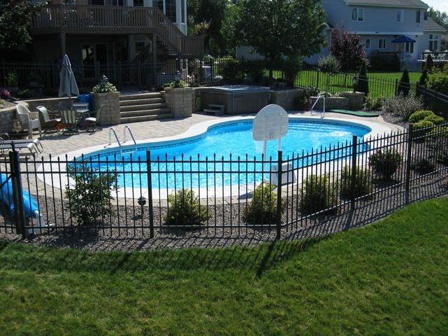 Pool fence photos ideas for Pool fence design qld