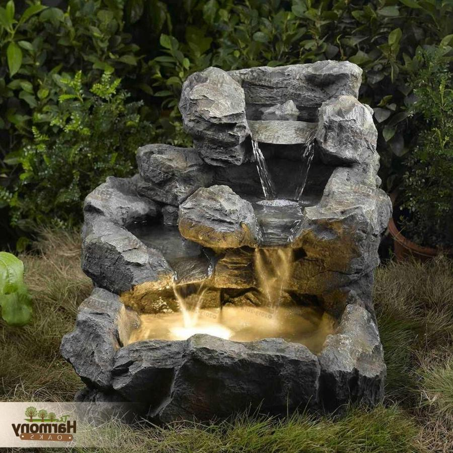 garden water fountains photos