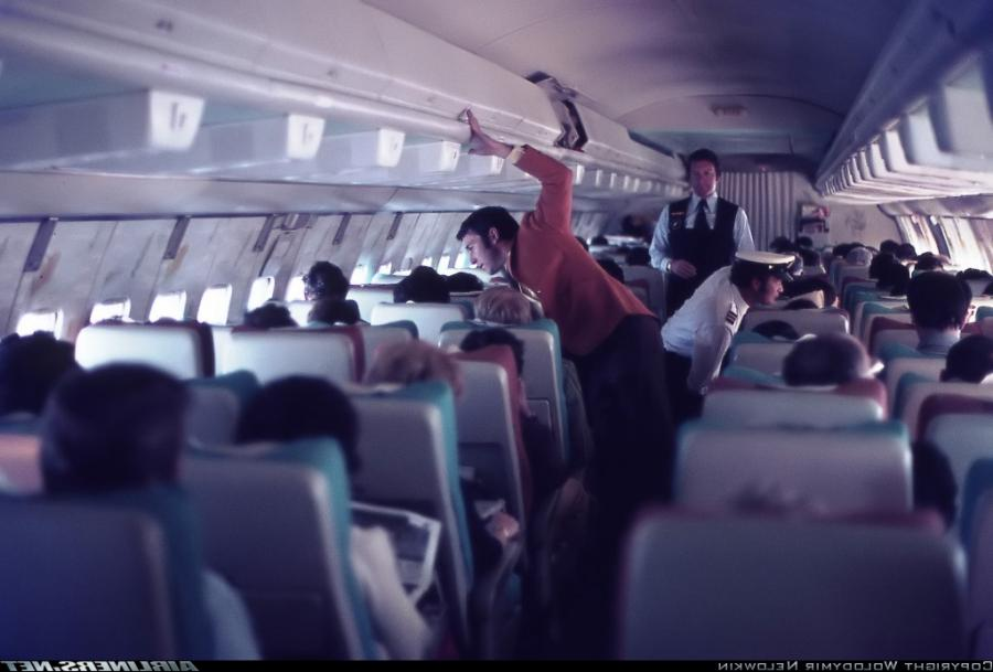 Boeing 707 Interior Photos