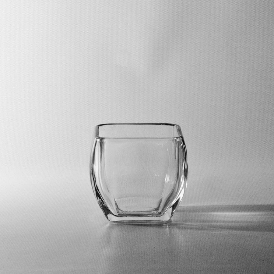 Square Glass Photo Vase Wholesale