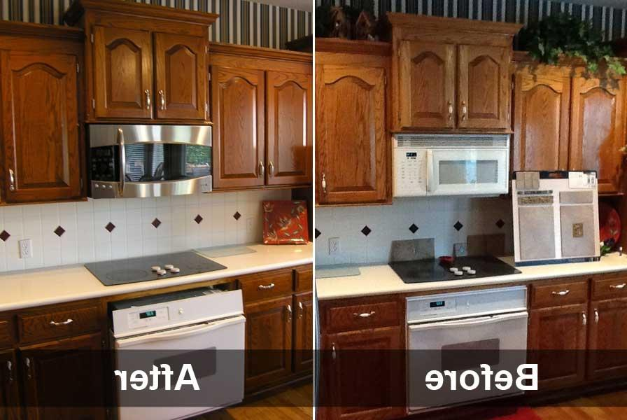 Http Photonshouse Com Photos Of Refinished Cabinets Html