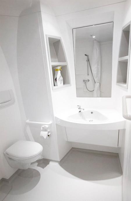 Airplane bathroom photos