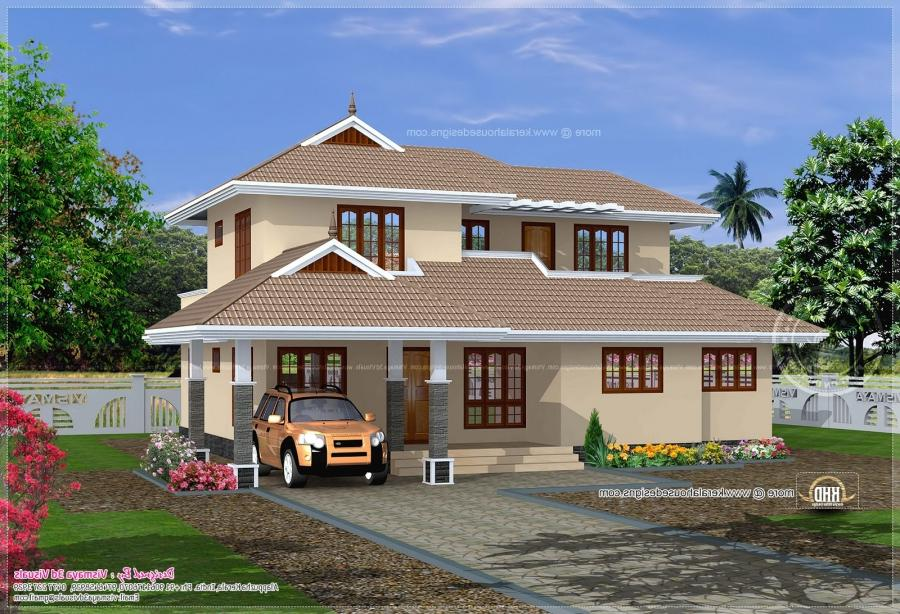 Simple house photos kerala for Simple houses in kerala