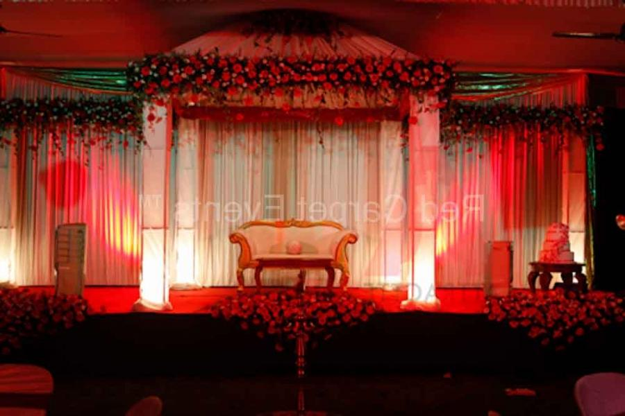 Marriage Stage Decorations Photos