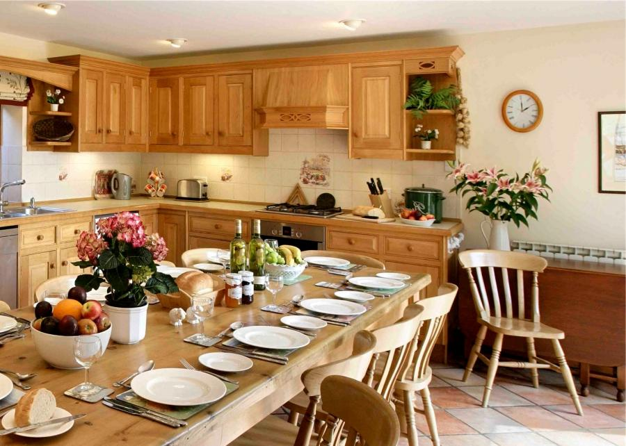 english country kitchen photos