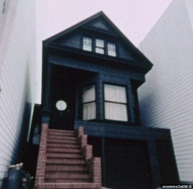 Diabolical: Known as the Black House, the building at 6114...
