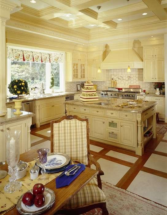 Large French Country Kitchen