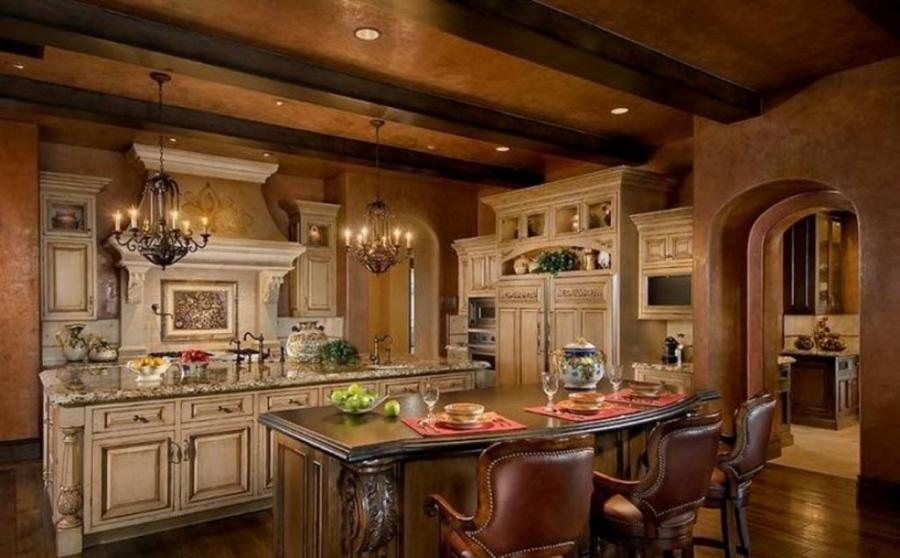 Tuscan kitchen ideas photos for Old world tuscan kitchen designs