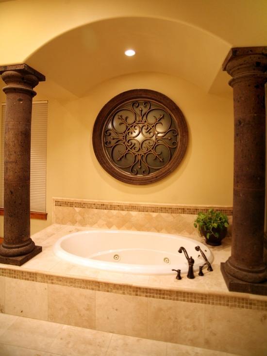 Tuscan bathroom decor change your bathroomu outlook shower source