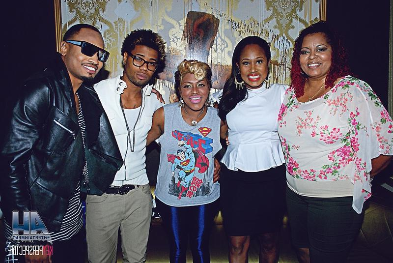 RobinS, Sunshine Andersone Lil Mo, Cori Sims and Anthony Q, aurum...