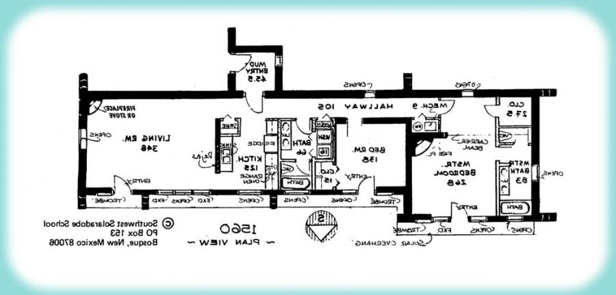 Adobe house plans with photos Adobe floor plans