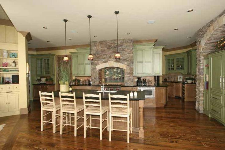 Craftsman Home Plans With Interior Photos