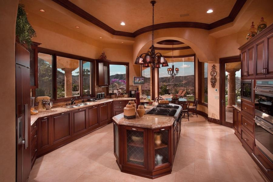 Luxury Kitchen Island design