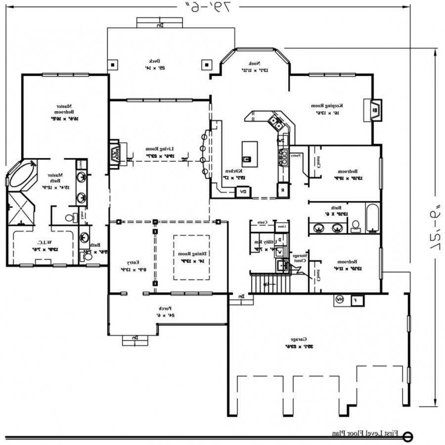 3000 sq ft house plans with photos for Floor plans for 3000 sq ft homes