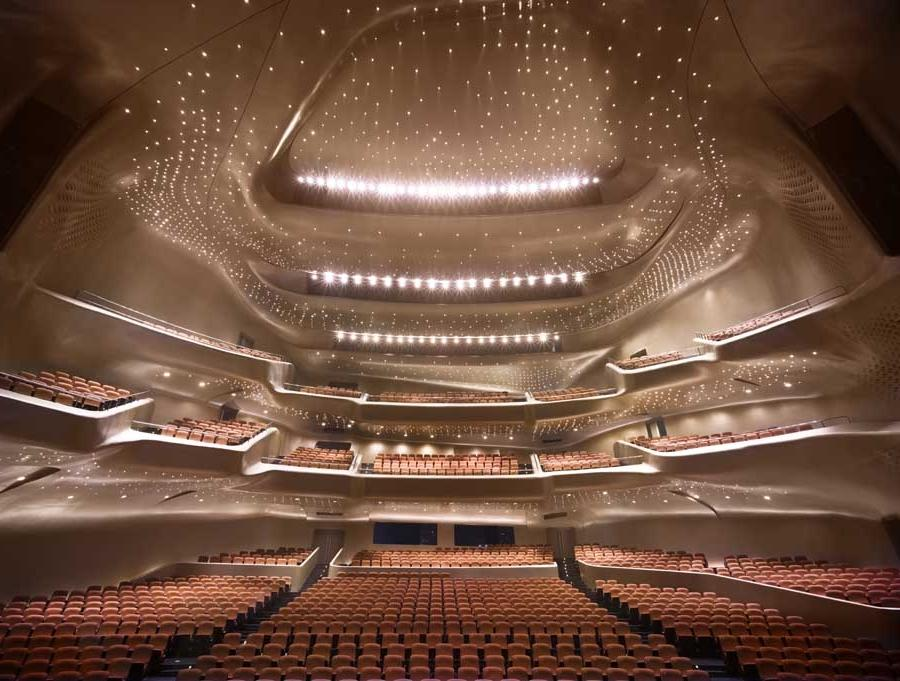 Photos of opera houses for Beijing opera house architect
