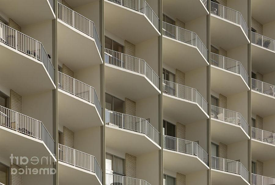 Apartment Balconies Photograph