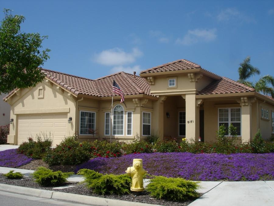 A ranch-style house in Salinas, California, US