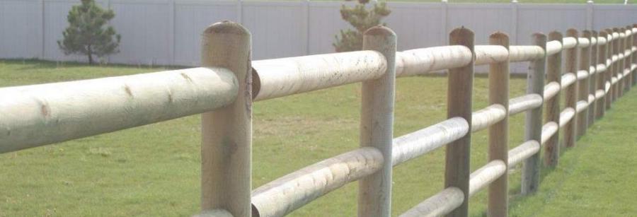 Telephone Pole Fence Gallery Photo