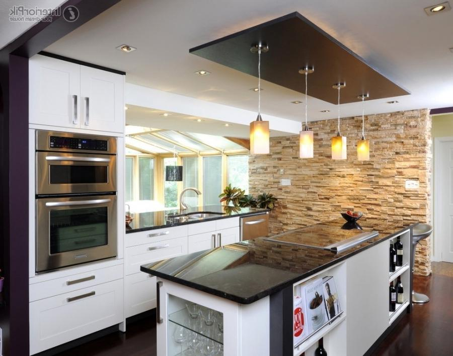 Modern Kitchen Ceiling Decoration