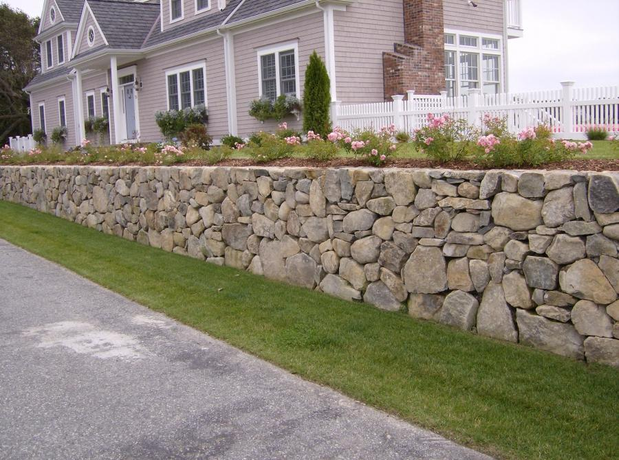 landscaping stone walls photos
