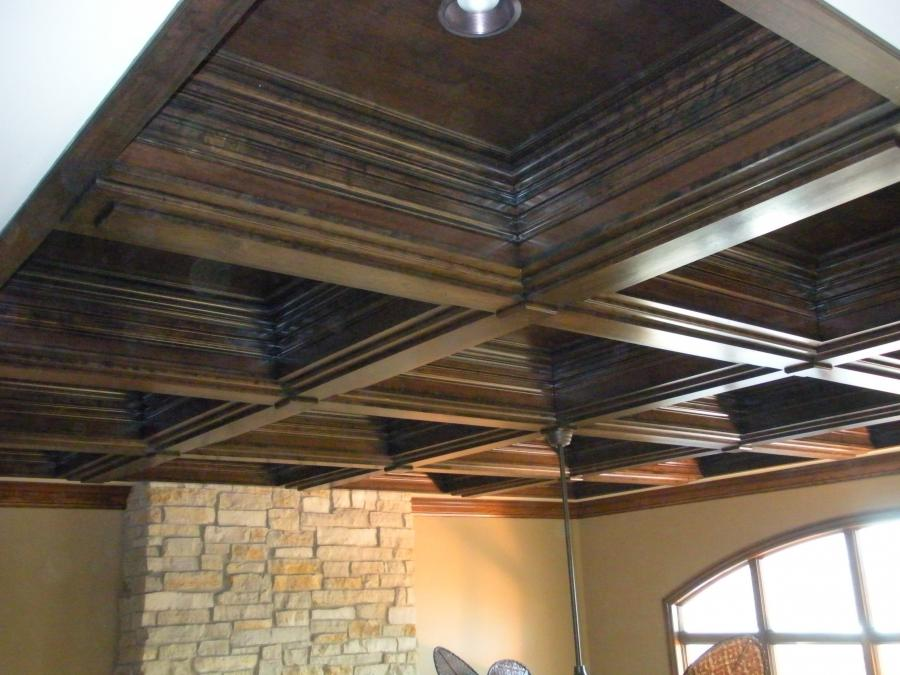 Brave Wooden Rail Plafond As Classic Ceiling Designs Over...
