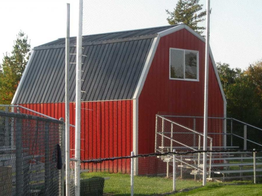Gambrel Roof Photos: gambrel roof pole barn