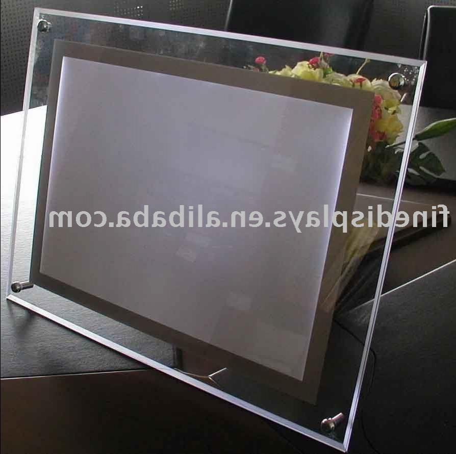 Plexi glass photo