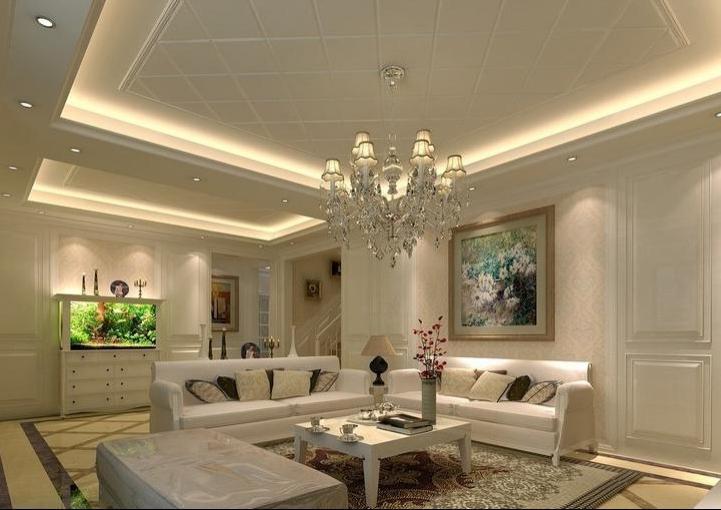 Дизайн потолки классика