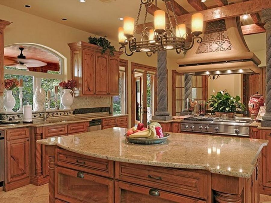 Tuscan kitchen design photos for Tuscan kitchen ideas on a budget