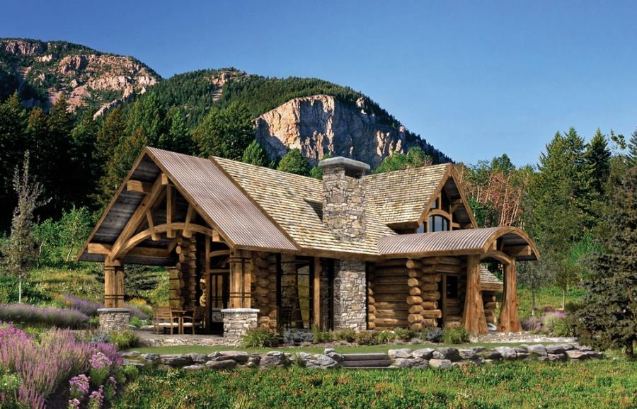 Mountain style house plans with photos for Eclectic house plans