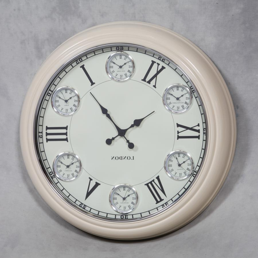 Large Wall Clock With Photo Frames