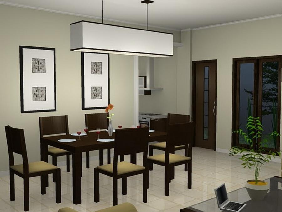 Creative Minimalist Dining Room Design Ideas with