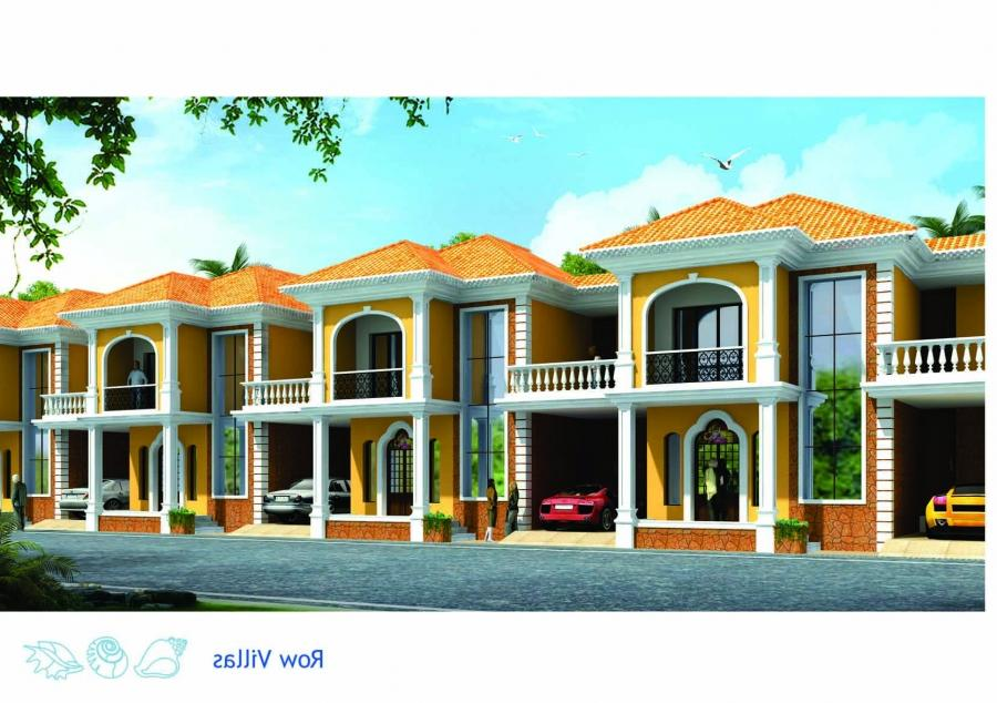 Photos of row houses in india for Row houses for sale
