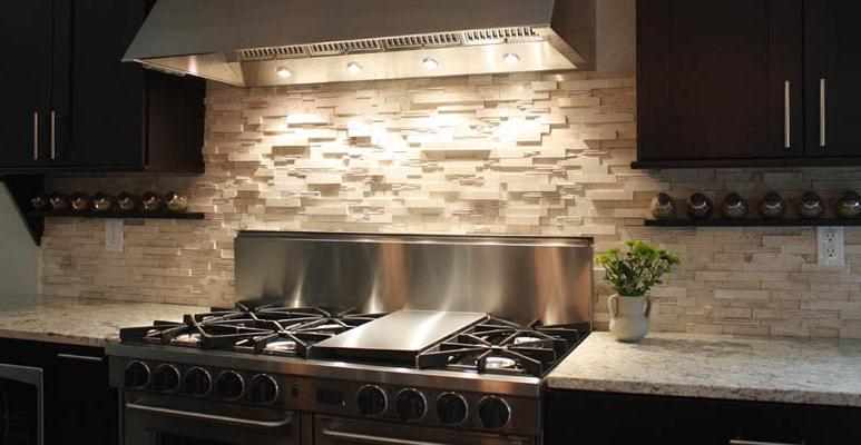 Stacked Stone Backsplash Photos