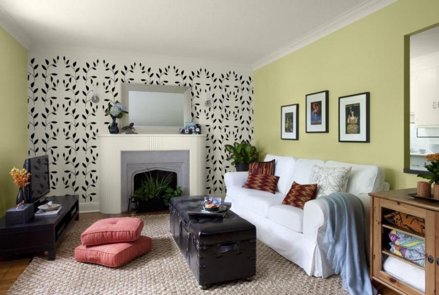 Wall design colour