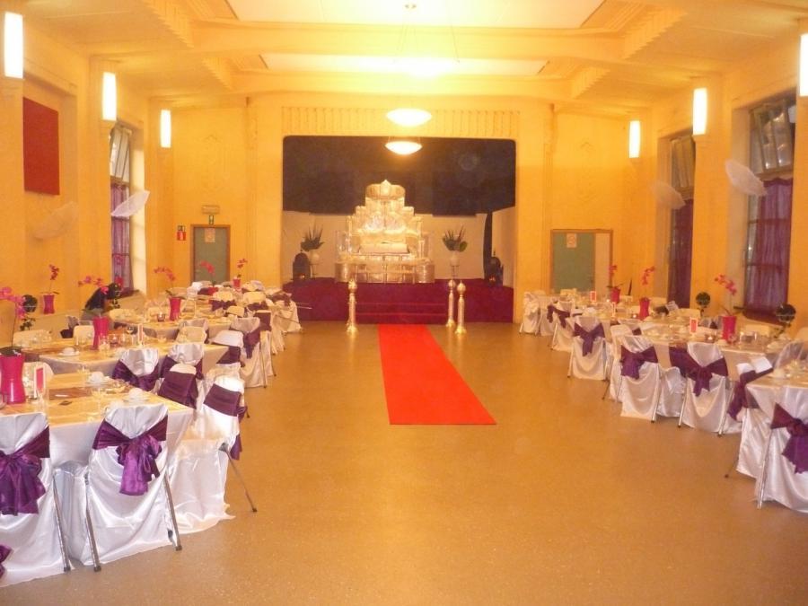 Photo decoration salle fete pour mariage - Decoration de salle pour mariage ...