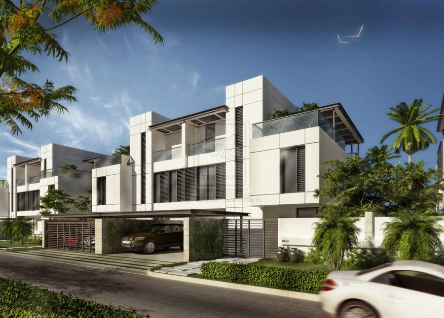 Modern Town Houses By Aboushady