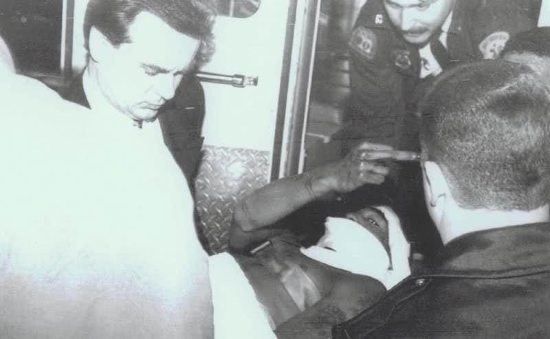 tupac casket photo