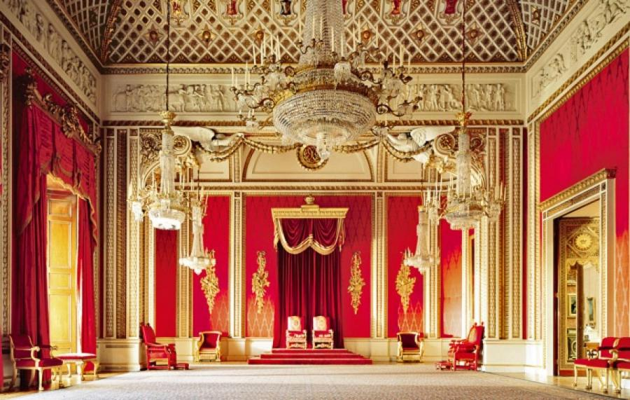 Buckingham Palace Throne Room Photos