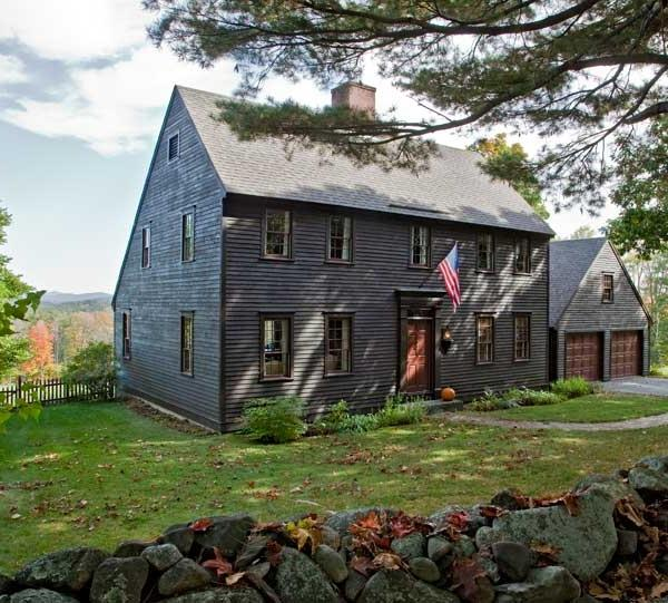 Photos of saltbox houses for Reproduction homes