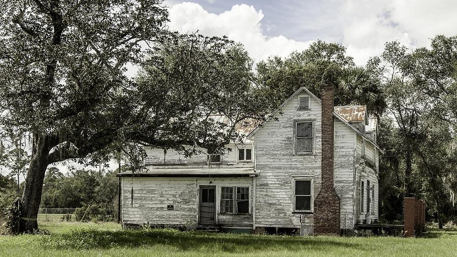 Old Florida Farmhouse Photograph
