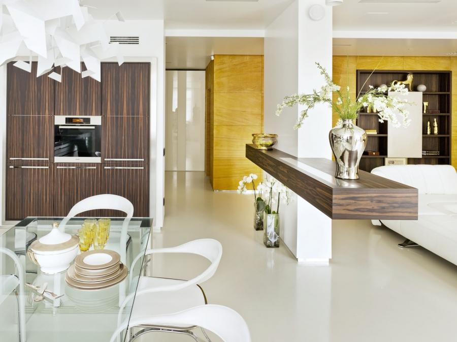 ... the apartment oozes an air of high-end sophistication worthy...